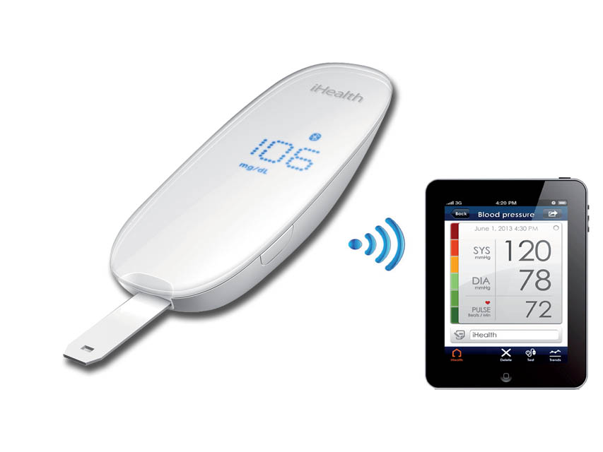 Kit Glucometro Wireless BGE iHealt