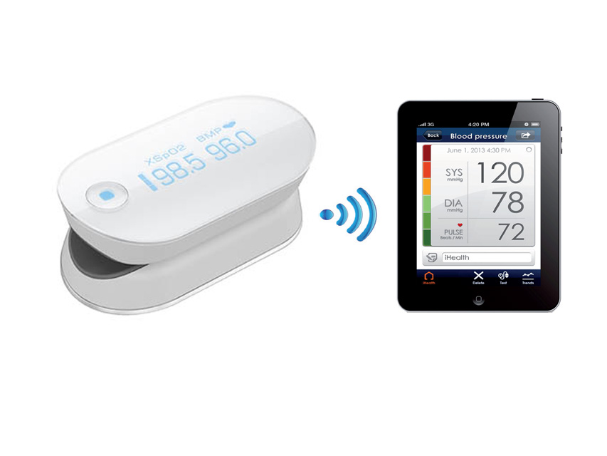 Pulsoximetro Wireless iHealt Air
