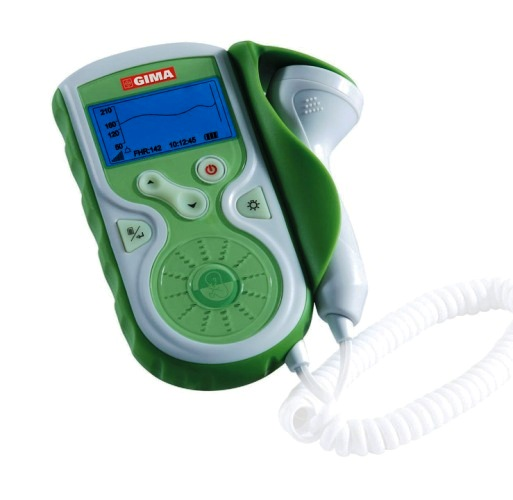 Doppler Fetale Baby Sound con display e sonda da 1 MHz