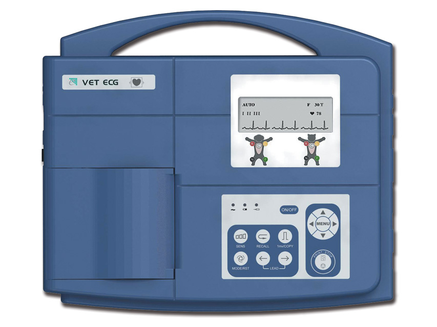 ECG Veterinario VE-300 - 3 canale