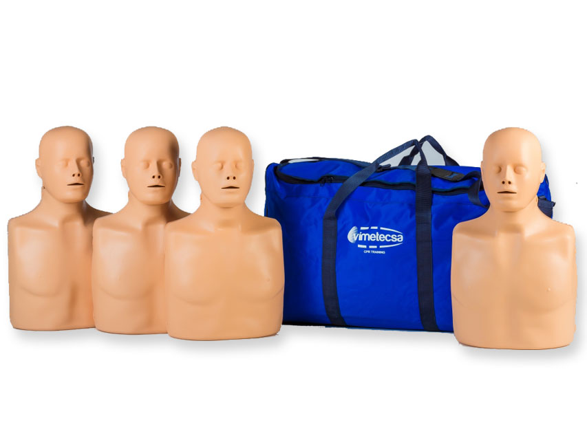4 Manichini per corsi di addestramento CPR PRACTI-MAN ADVANCE