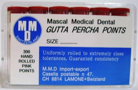 Gutta percha points - MMD